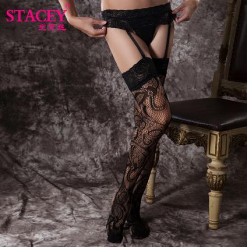 史黛丝 丝丝爱恋性感吊带网袜